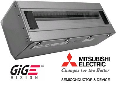 Using proven CIS imaging technology, the Label-CIS camera will have a 104mm imaging width with 600dpi resolution (2457 valid pixels), 8 bit monochrome. The camera has built-in red LED lighting, and is GigE Vision compliant. This camera can be integrated with a variety of industrial printers commonly used for on-demand printing, such as manufacturing and pharmaceutical labels.