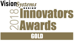 Vision Systems Design 2018 Innovators Award - Gold
